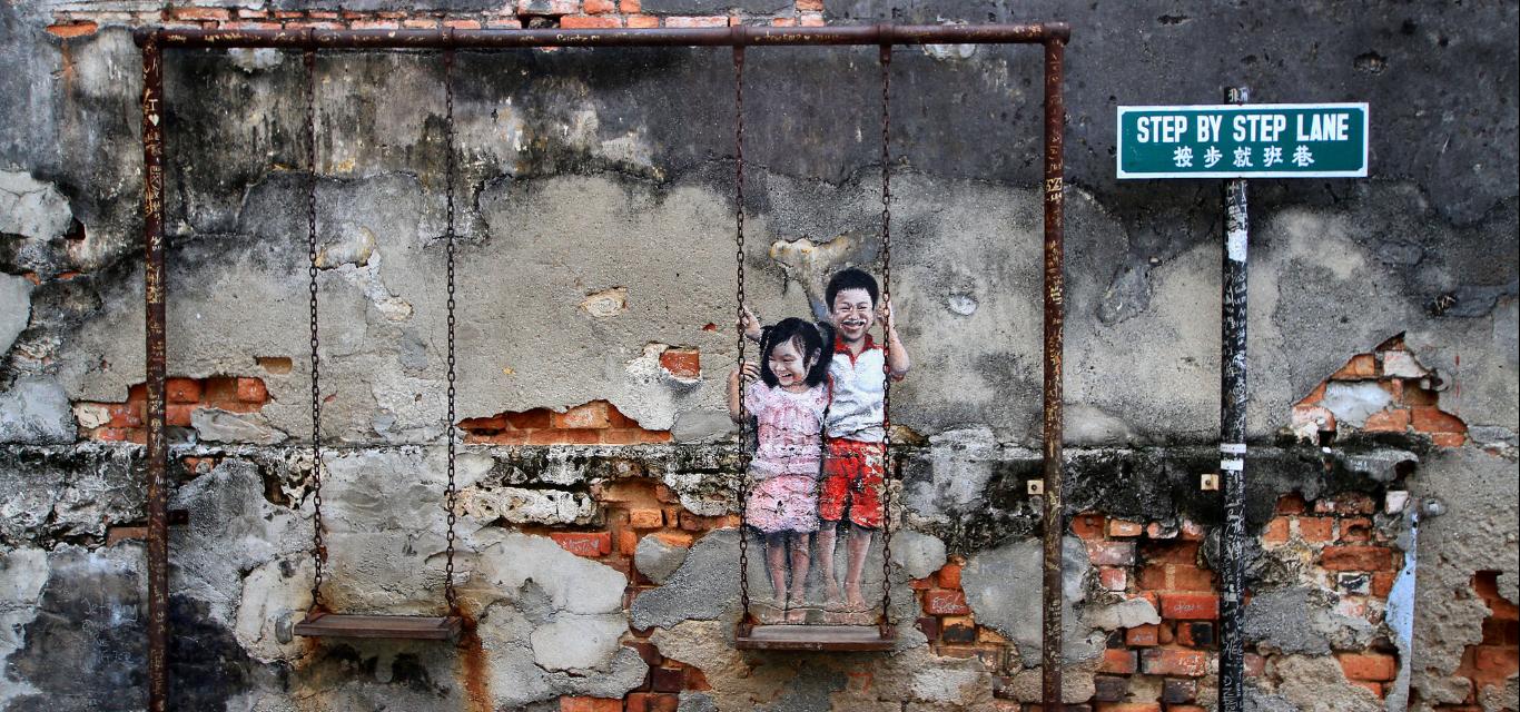 Street art, Georgetown, Penang Island