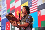 Merah Putih Club celebrate SERABI 2018 at Limkokwing Plaza