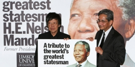Mandela gets Honorary Doctorate from Limkokwing University