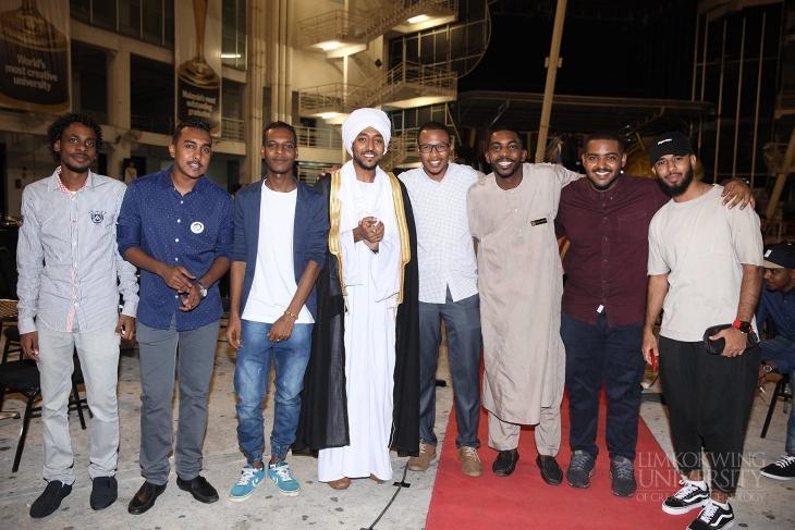Mehndi Ceremony Sms : Sudanese students henna graduation ceremony limkokwing