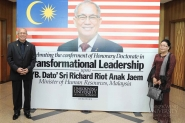 Dato' Richard Riot receives an Honorary Doctorate in Transformational Leadership from Limkokwing University