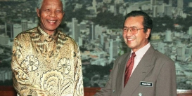Celebrating Mahathir & Mandela