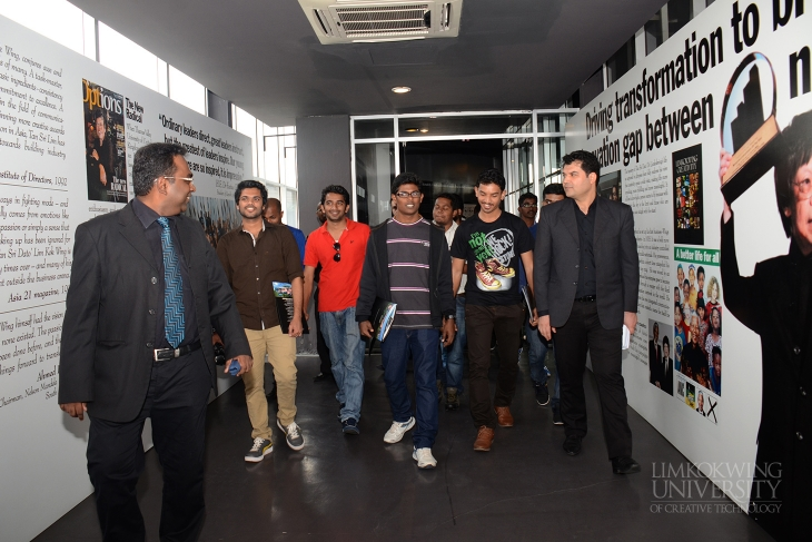 Limkokwing University visit gives Indian MBA students new entrepreneurial perspectives