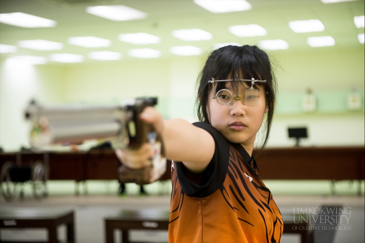 National Malaysian shooter shares her Limkokwing story so far