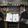 YB Dato' Azis Jamman receives Honorary Doctorate from Limkokwing University