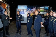 Director Logistics of PDRM, YDH CP Dato' Pahlawan Zulkifli and team visit Limkokwing University