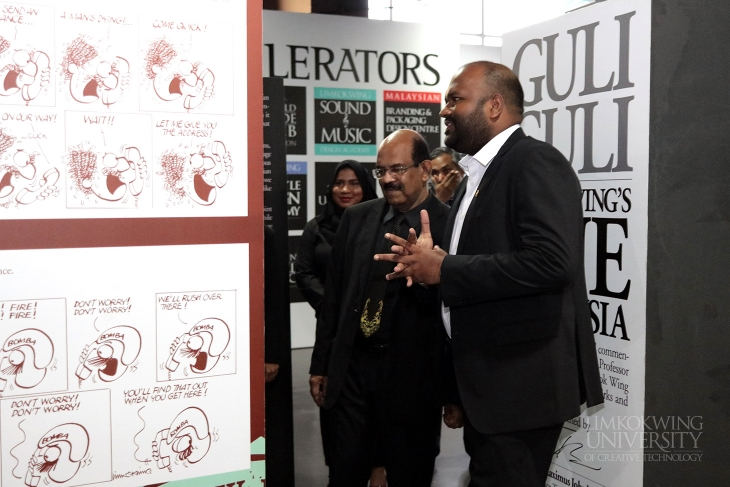 Maldives' Minister of Tourism pays a special visit to Limkokwing University