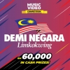 RM60,000 in cash to be won in Demi Negara music video competition