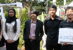Floria Putrajaya 2012 University Garden Competition