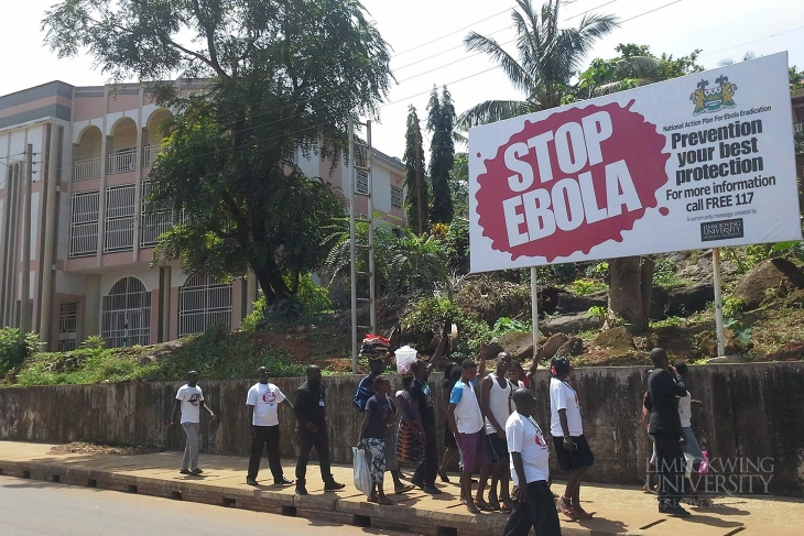Limkokwing University campaigns against Ebola in Sierra Leone