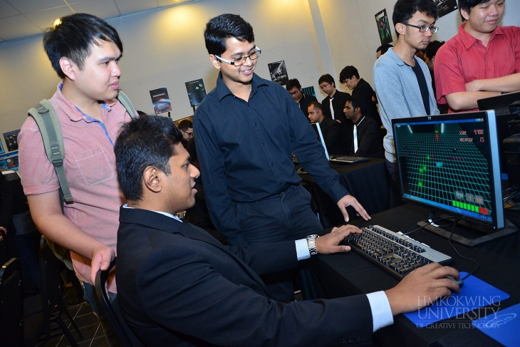 Games students receive feedback from industry experts in Games Industry Review