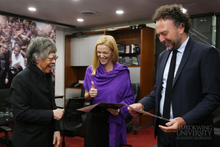 Limkokwing explores collaboration with Vern University of Croatia