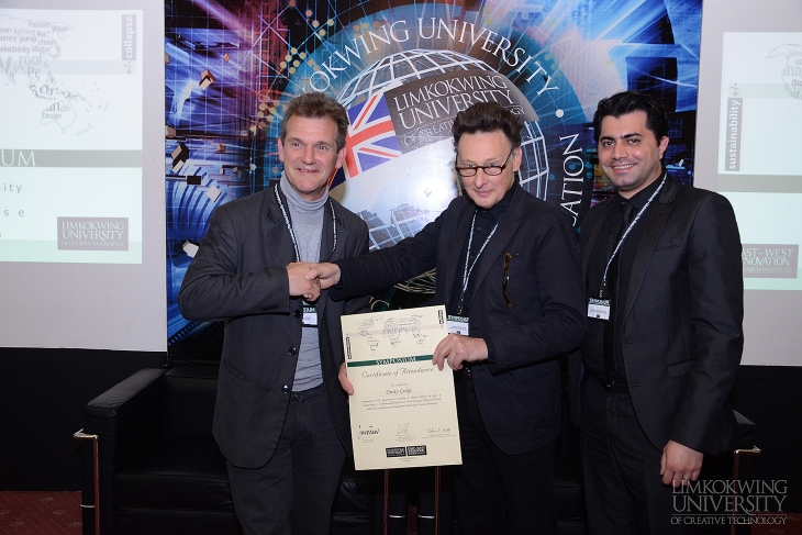 Sustainability +/- Collapse Symposium at Limkokwing London