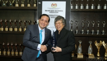 Limkokwing University and Founder President receive top honours from World Confederation of Businesses