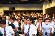 Career Planning with 106 students from Sekolah Sultan Alam Shah