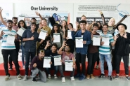 Students from India completed 2017 Intensive Entrepreneurial Programme