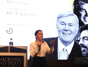 "Industry Talk by Irene Dima: ""Blockchain is the next big thing for transforming business operations"""