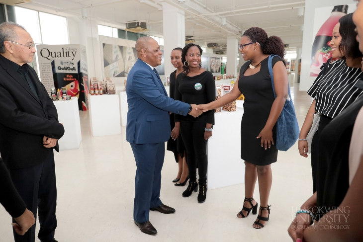 High Commissioner of the Kingdom of Lesotho visits  Limkokwing Cyberjaya