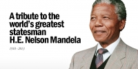 A tribute to the World's Greatest Statesman, Nelson Mandela