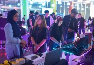 Multimedia students showcase their talent at 'GAMEX' Exhibition