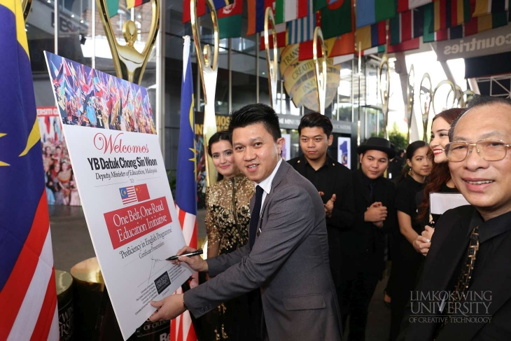 Limkokwing English International (LEI) bids farewell to first batch of hearing-impaired graduates from China