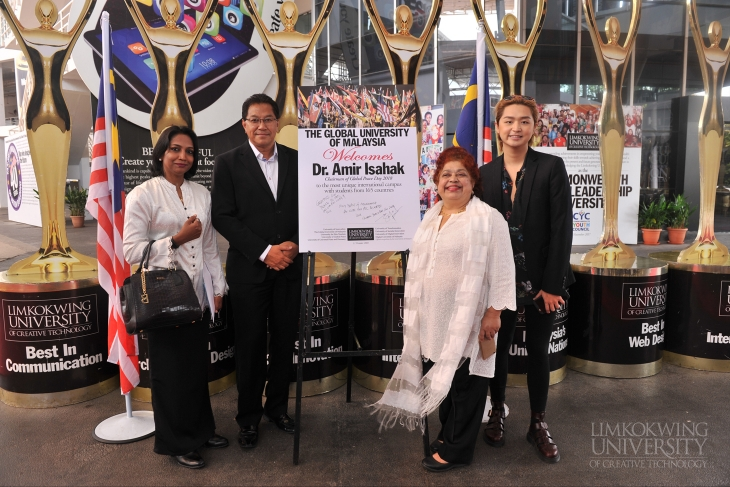 Limkokwing joins Malaysia Global Peace Day 2018