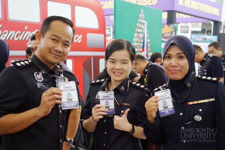 First batch of PDRM officers complete Strategic Social Media training at Limkokwing University