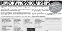 Limkokwing All-Expenses-Paid Scholarships