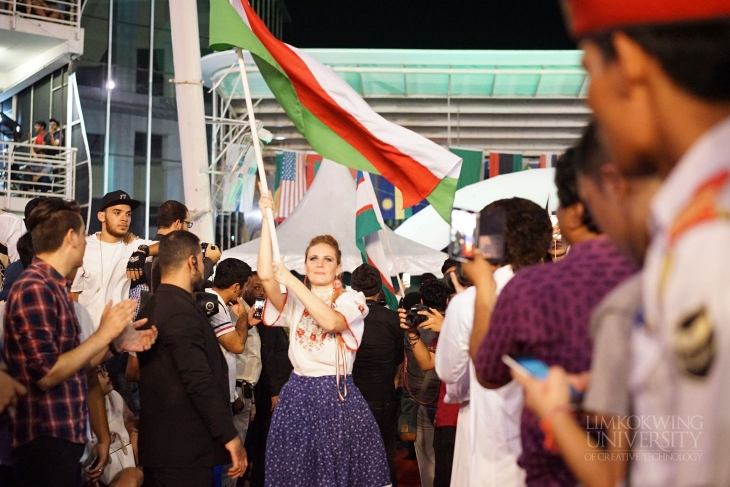 Thousands throng Limkokwing University Cultural Festival