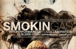 SmokinGas Exhibition Poster Design