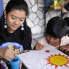 Limkokwing students bring cheer to residents of Siddharthan Care Centre