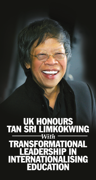 UK Honours TAN SRI LIMKOKWING