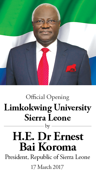 Official Opening Limkokwing University Sierra Leone