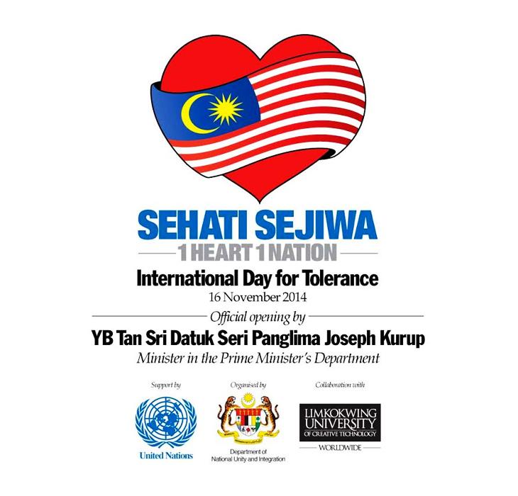 One Heart Nation International Day For Tolerance 2014