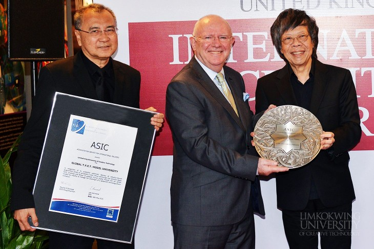Limkokwing University named Global TVET Model University by ASIC UK