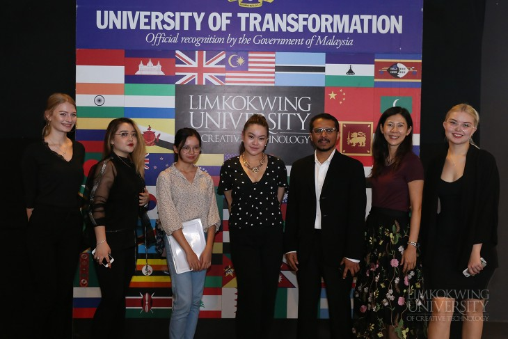 """Limkokwing is the best University for international students"""