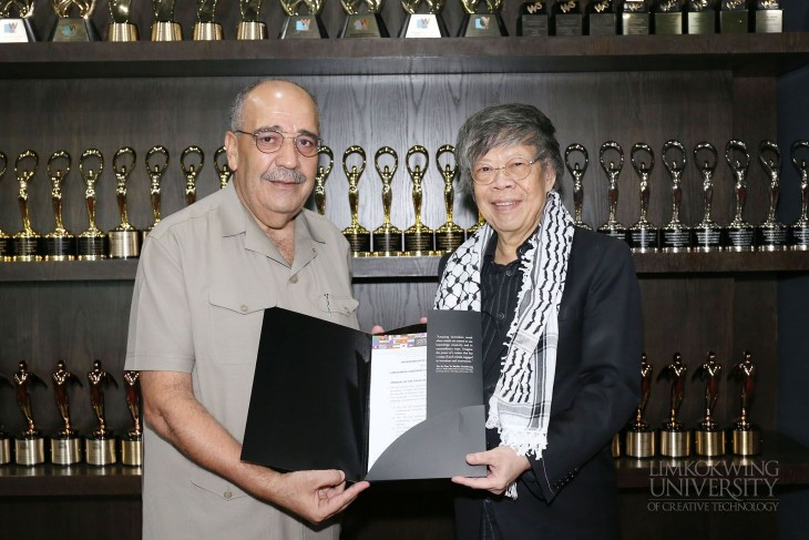 Palestinian Embassy signs MoU with Limkokwing University to strengthen education ties