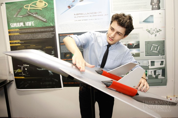 Industrial design students showcase futuristic concept for Industrial design news
