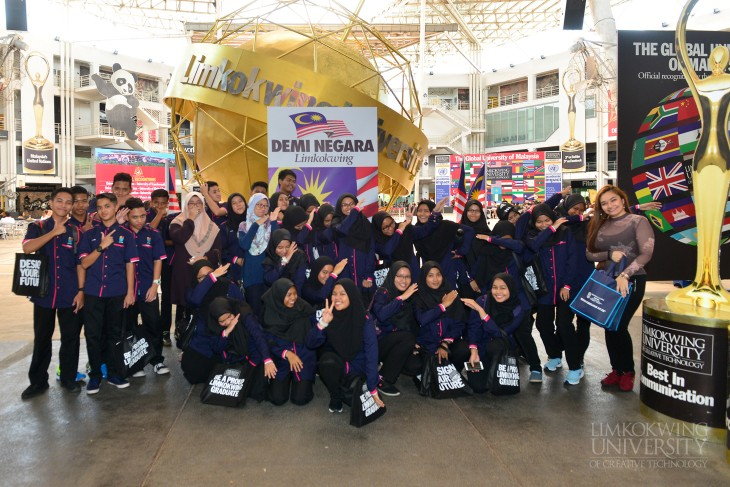 SM Sains Terengganu students inspired by creativity at Limkokwing