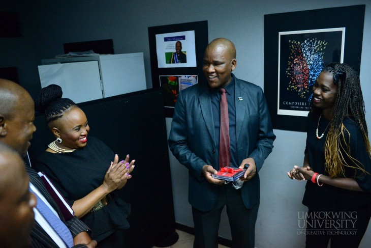 Limkokwing University Botswana welcomes the Honourable Dr. Alfred Madigele