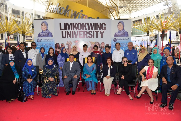 """Limkokwing University's globalised environment is a shining spotlight for Women Empowerment initiatives"""
