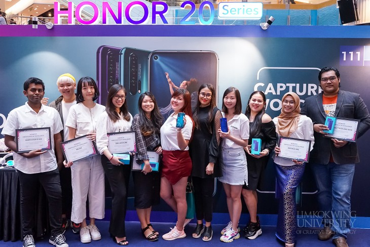 "Limkokwing students shine at Honor ""Phantom"" Competition 2019"