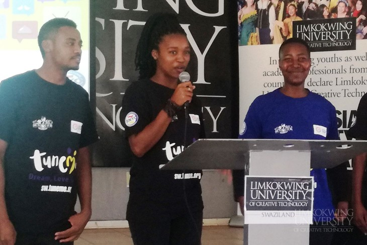 'TuneMe' mobile site launched at Limkokwing eSwatini