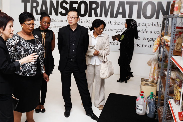 lesotho minister of education and training visits limkokwing - Fashion Designer Education And Training