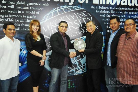 Visit By CEO Of MyCreative Ventures Sdn Bhd, Johan Ishak