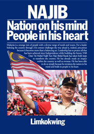 Najib: Nation on His Mind, People in His Heart