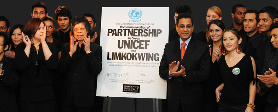 Partnership between UNICEF and Limkokwing