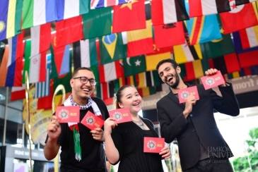 Limkokwing International Cultural Festival on 10 May 2018