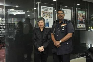 Fighting cybercrime with the Royal Malaysia Police!