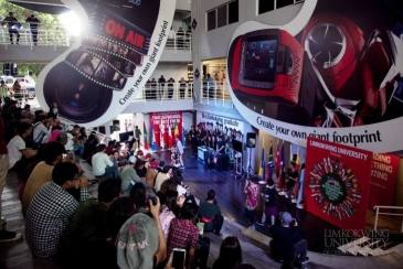 AXN University Challenge at Limkokwing Cultural Festival